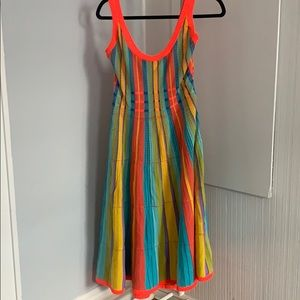 Kate Spade aline colorful knit dress